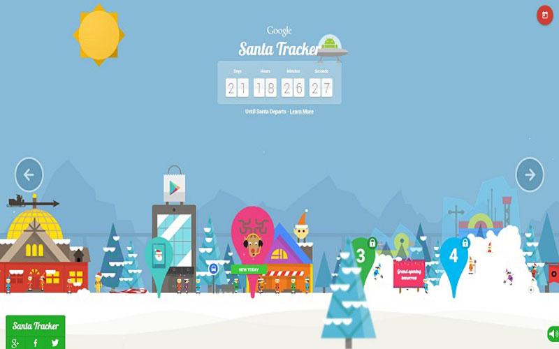 Santa Google In 2012